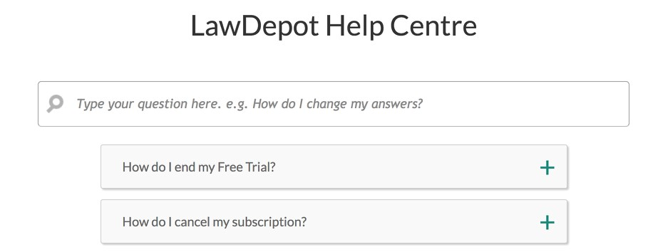 LawDepot.ca Knowledge Base